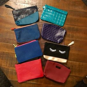 Ipsy bags lot of 8